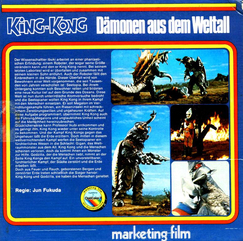 King Kong – Dämonen Aus Dem Weltall