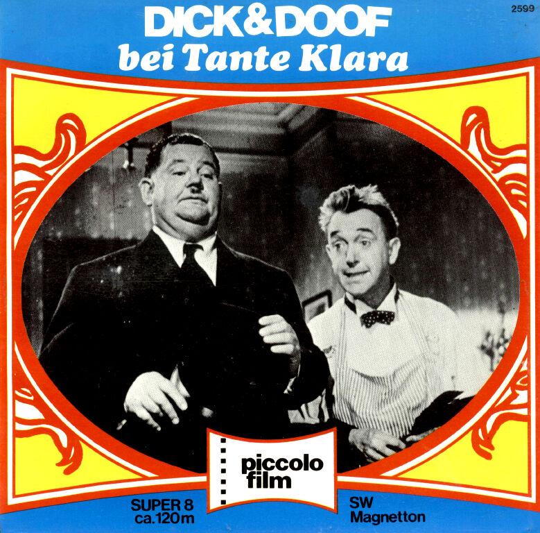 Technik & Photographica Super 8 Film Dick Und Doof Bei Tante Clara