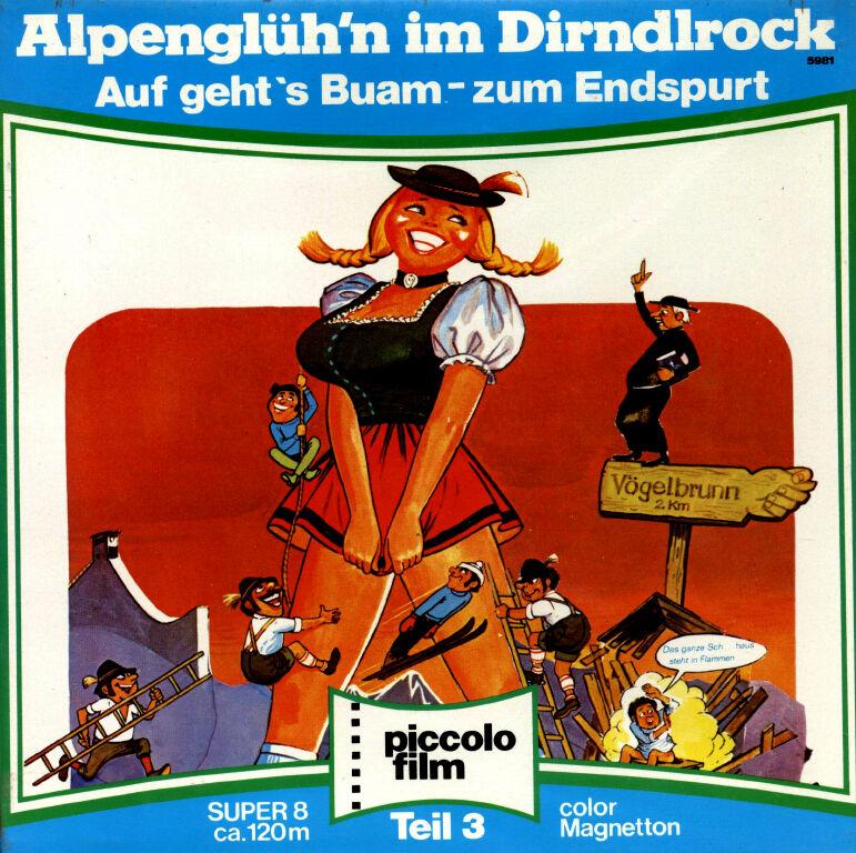 Alpenglühn Im Dirndlrock Film